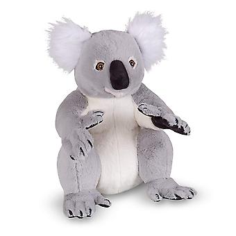 Melissa & Doug 18806 verklighetstrogna plysch Koala uppstoppade djur leksak