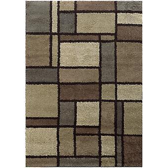Covington 5502i beige/midnight indoor area rug rectangle 6'7