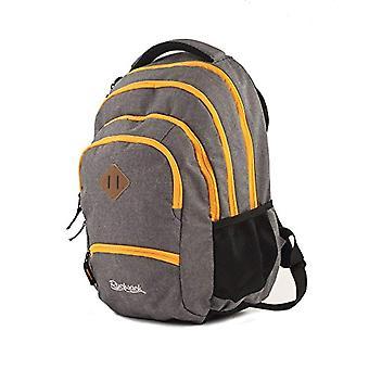 Rucksack Grand Schulrucksack/Backpack Colour Zipper 35l mit 15 -6' Laptopfach 5 Rei_verschlussf?chern Casual Backpack - 46cm - 35 liters - Grey (Colour Zipper)
