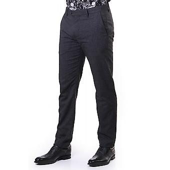 Ted Baker Mens Sybili Slim Checked Trousers