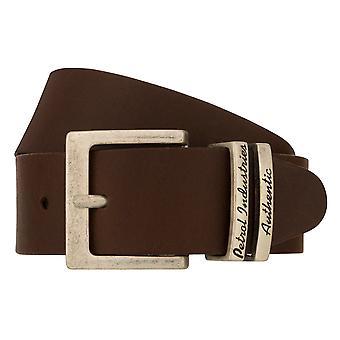 Teal Belt Men's Belt Leather Belt Jeans Belt Brown 8263