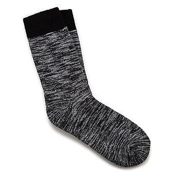 Birkenstock dame bomulds sokker multi 1002439 sort