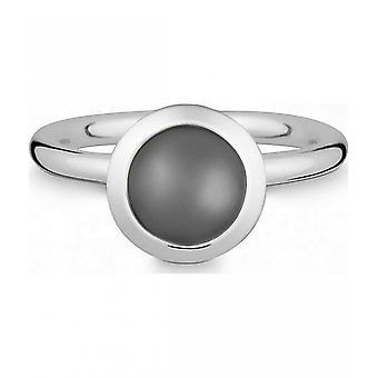 كوين -- خاتم الفضة مع حجر القمر -- 021838650