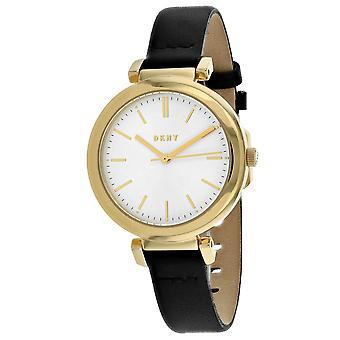 DKNY Women's Ellington White Dial Watch - NY2587