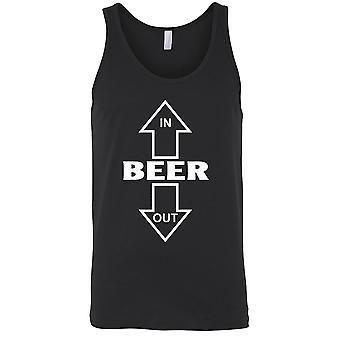 Miehet ' s olut sisään/ulos alkoholi juoma säiliö alkuun
