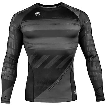 Venum AMRAP Långärmad kompression T-shirt-svart/grå