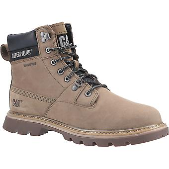 CAT Lifestyle Mens Ryman Waterproof Lace Up Boot Olive