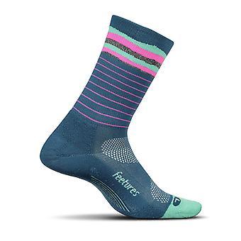 Feetures Unisex Elite Light Cushion Mini Crew Socks