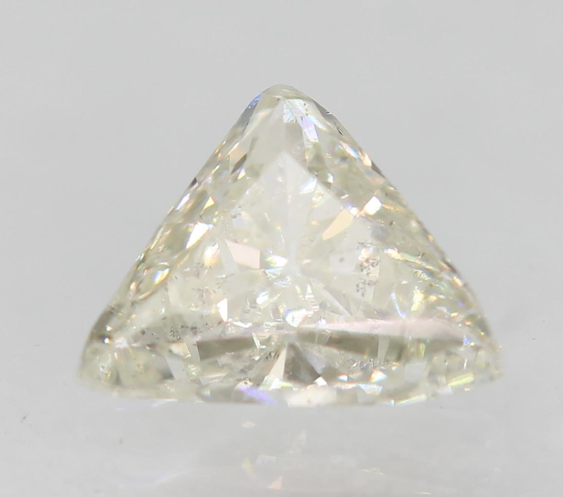 Certified 0.35 Carat G VS2 Triangle Natural Loose Diamond For Ring 5.58x4.43mm