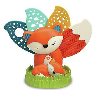 Infantino 3 In 1 Musical Fox Soother & Night Light Projector