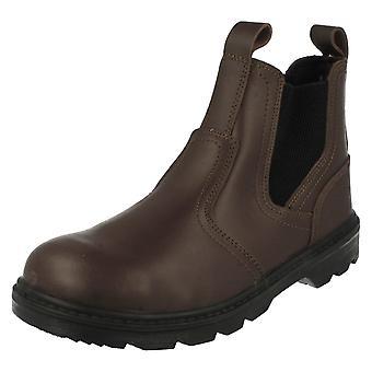 Mens Truka Steel Toe Cap Dealer Boots A3048