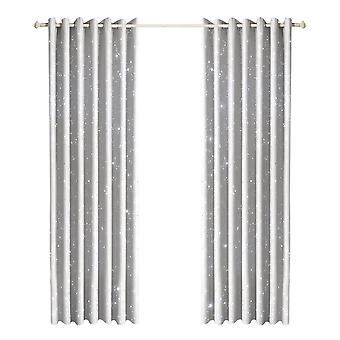 Star Blockout Curtains 3 Layers Eyelet 180X213Cm