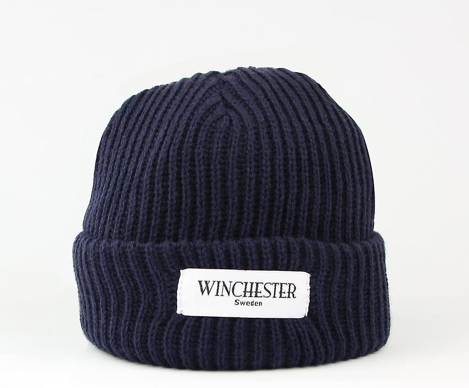 Winchester Of Sweden Hipster beanie marin blue