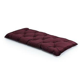 Burgund single velvet Loft 25® Memory Foam Futon Matratze Bett Gäste Ersatzbett