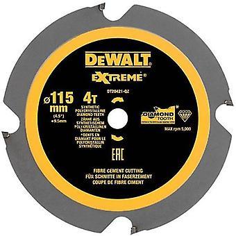 DeWALT DT20421-QZ 115mm 4T 9.5mm PCD Circ Saw Blade DCS571