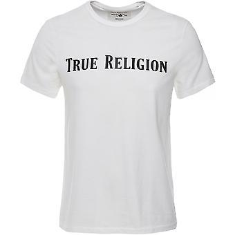 True Religion Crew Neck Straight Logo T-Shirt