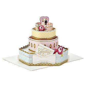 Hallmark Papier Wunder Herzlichen Glückwunsch Hochzeit 3d Pop-up-Karte 25522159