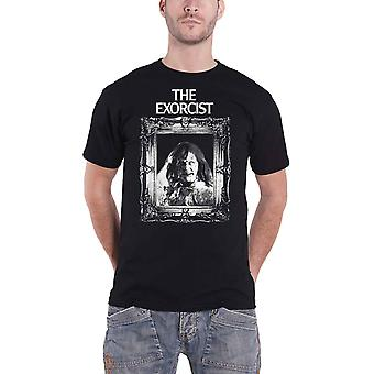 The Exorcist T Shirt Frame Movie Logo new Official Mens Black