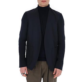 Maison Margiela S30bn0472s52640511 Hombres's Blue Cotton Blazer