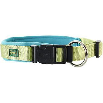 Hunter Kragen Neopren Vario Plus Hellgrün (Hunde , Für den Spaziergang , Halsbänder)