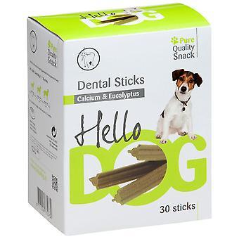 Agrobiothers Medium Dentalstick Eucal/Calc 30P 600G Hellodog