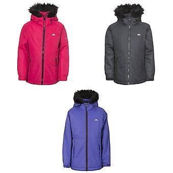Trespass Childrens piger Staffie vandtæt jakke