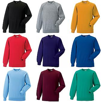 Jerzees Schoolgear Childrens Raglan mouwen Sweatshirt (Pack van 2)