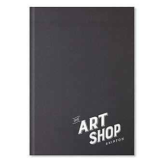 The Art Shop Skipton Casebound Sketchbook A4 (Portrait)