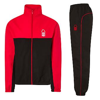 Nottingham Forest FC Official Football Gift Boys Jacket & Pants Tracksuit Set