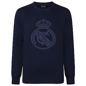 Real Madrid Boys Sweatshirt Graphic Top Kids Cadeau officiel de football