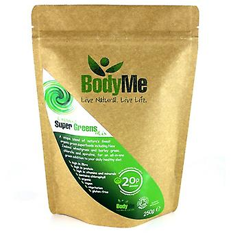 BodyMe, Organic Super Greens Powder, 250g