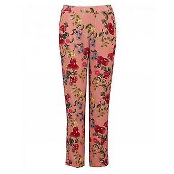 Sofie Schnoor Rose Print Lightweight Trousers