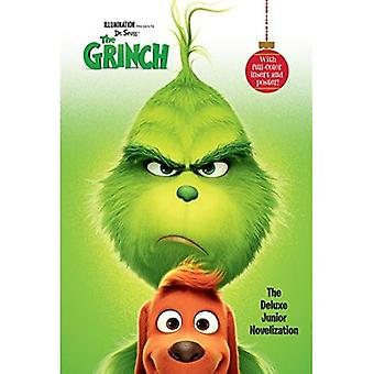 Belysning presenterar Dr. Seuss Grinchen: den Deluxe Junior bokversionen