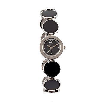 Eton Fashion watch, Black Enamelled 16mm Disc Bracelet - 2834L-BK