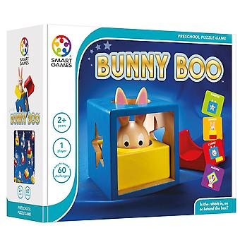 SmartGames Bunny Boo Preschool Wooden Puzzle Game One Player Ages 2-5 Years