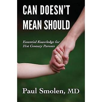 Can Doesnt Mean Should by Smolen MD & Paul