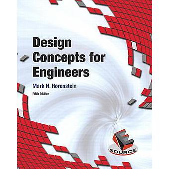 Design Concepts for Engineers by Mark N. Horenstein - 9780134001876 B