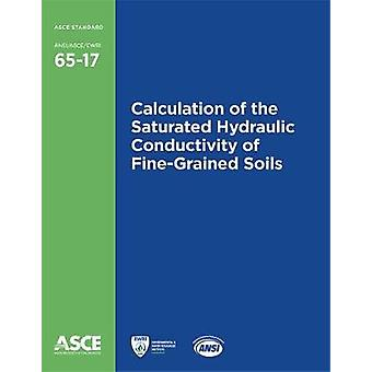 Calculation of the Saturated Hydraulic Conductivity of Fine-Grained S