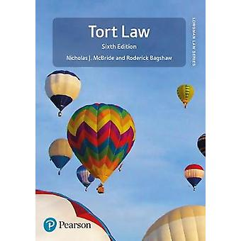 Tort Law by Nicholas J McBride - 9781292207834 Book
