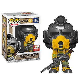 Fallout Excavator Armor E3 US Exclusive Pop! Vinyl