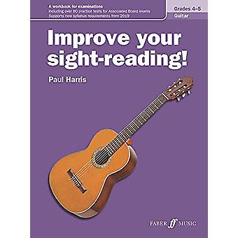 Improve your sight-reading! Guitar Grades 4-5 by Paul Harris - 978057