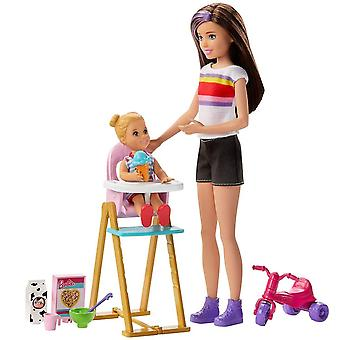Barbie, Skipper Babysitters Inc - Dinner time