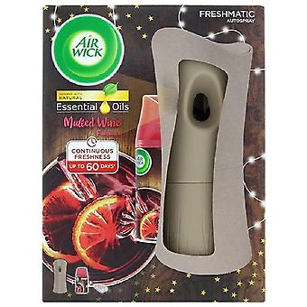 Porte-t-il d'Air Wick Freshmatic Autospray et recharge 250ml - Vin chaud