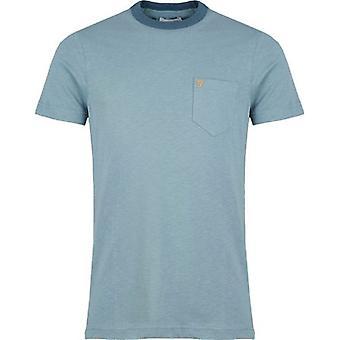 Farah Groove camiseta de bolsillo de manga corta