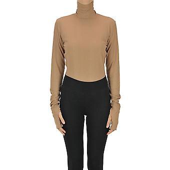 Mm6 Maison Margiela Ezgl038120 Women's Beige Other Materials Sweater