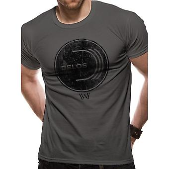 Westworld Adults Unisex Delos Logo T-Shirt