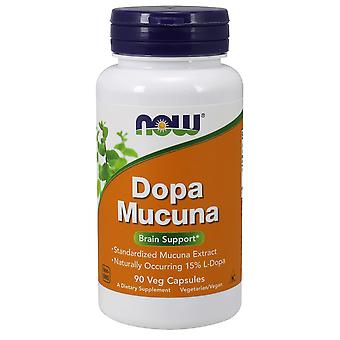 Now Foods Dopa Mucuna 90 Capsules