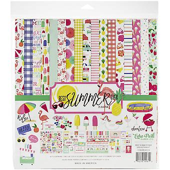 Echo Park Best Summer Ever 12x12 Inch Collection Kit