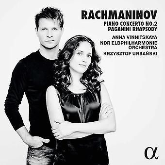 Rachmaninov / Vinnitskaya / Urbanski - Pianoconcert 2 [CD] USA import