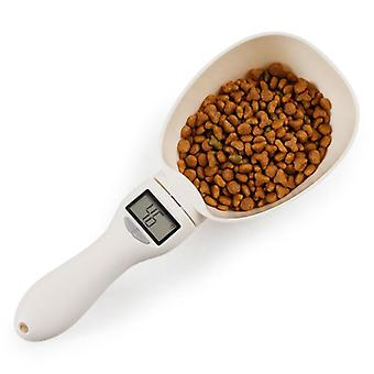 800g/1g Pet Food Scale Cup For Dog Cat Feeding Bowl - Kitchen Scale Spoon Measuring Scoop Cup